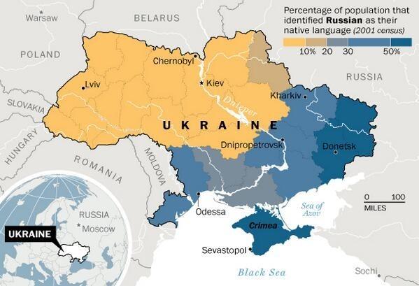 Rusohablantes Ucrania