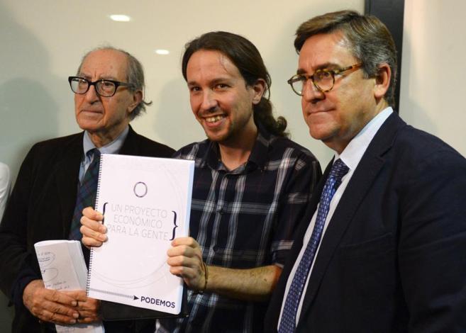 Iglesias con Navarro y Torres